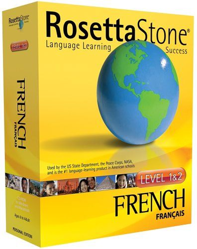 Rosetta Stone  French. Me and Rosetta are going to be quite busy the next few months =)