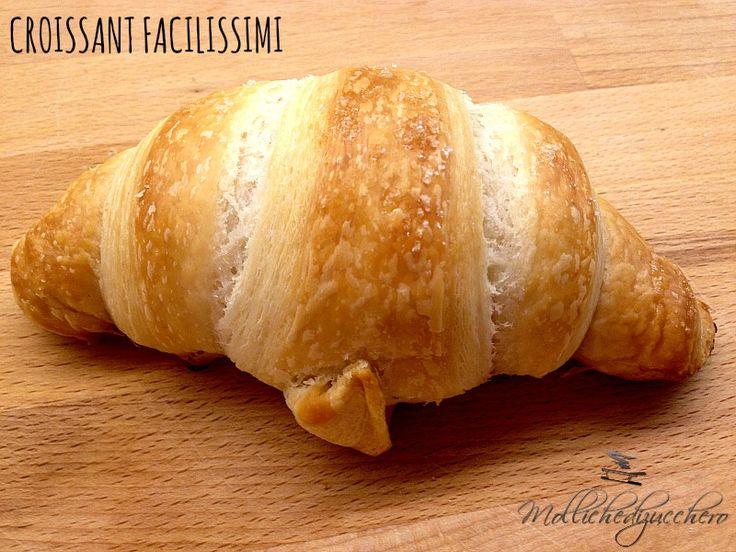 #Croissant facilissimi - Molliche di zucchero