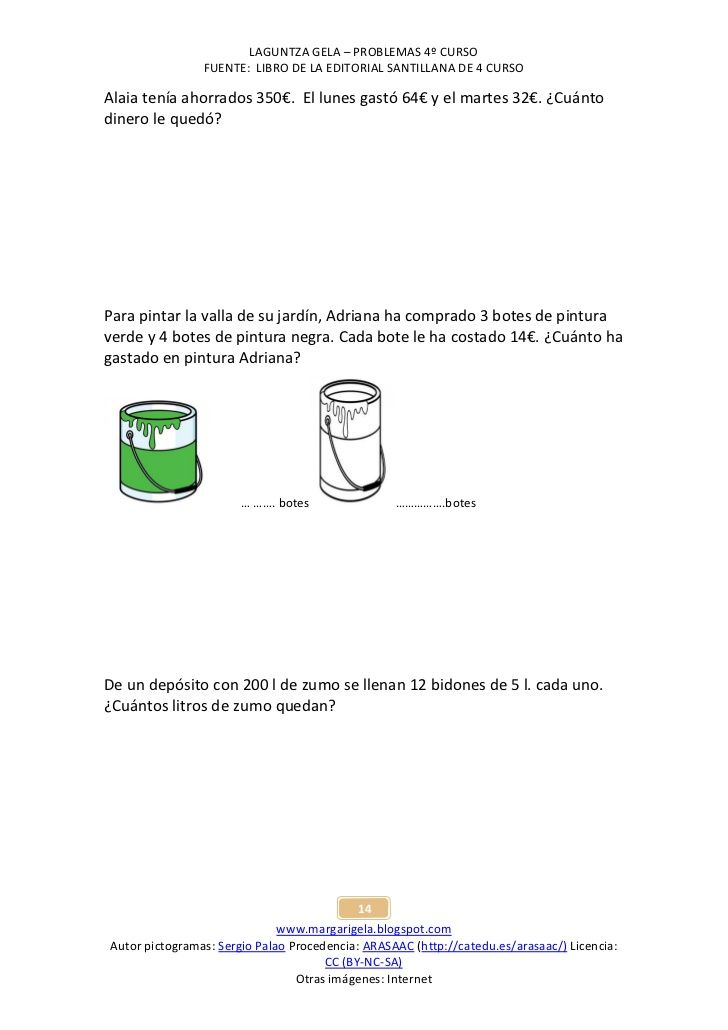 Problemas de matemáticas II 4.maila