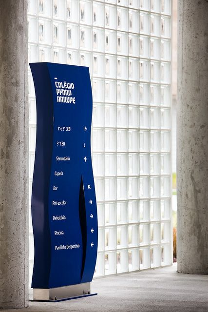 Some kind of way-finding sign could be great on the 3rd floor as you come out of…