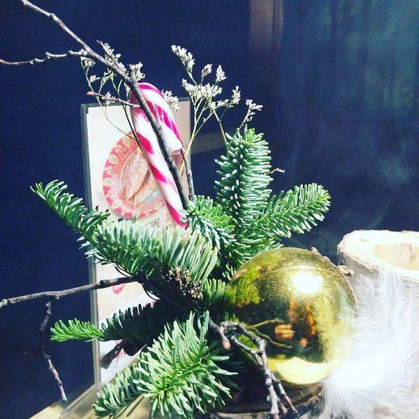 DЫМ на Пискунова,18 - новогодние цветочные композиции не оставят равнодушным ни одного DЫМ'лянина