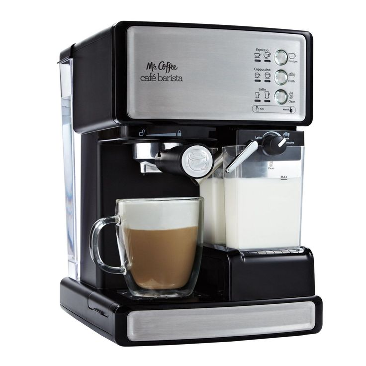 Coffee Machine Espresso Expresso Maker Cappuccino Stainless Latte Barista 15 Bar | eBay