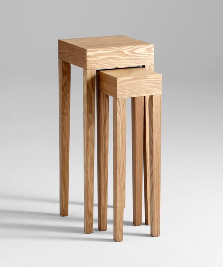 Interlocking side tables at www.dotandbo.com