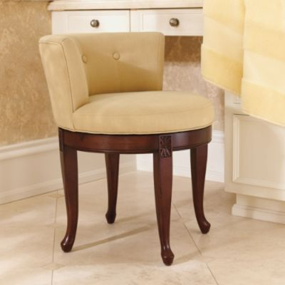 Picture Collection Website Isabella Vanity Stool
