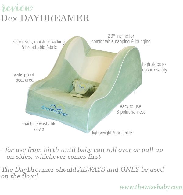 Dex DayDreamer Review- Dex DayDreamer Review - a great new product that's great for all babies but especially those with reflux issues! Enter our #giveaway!