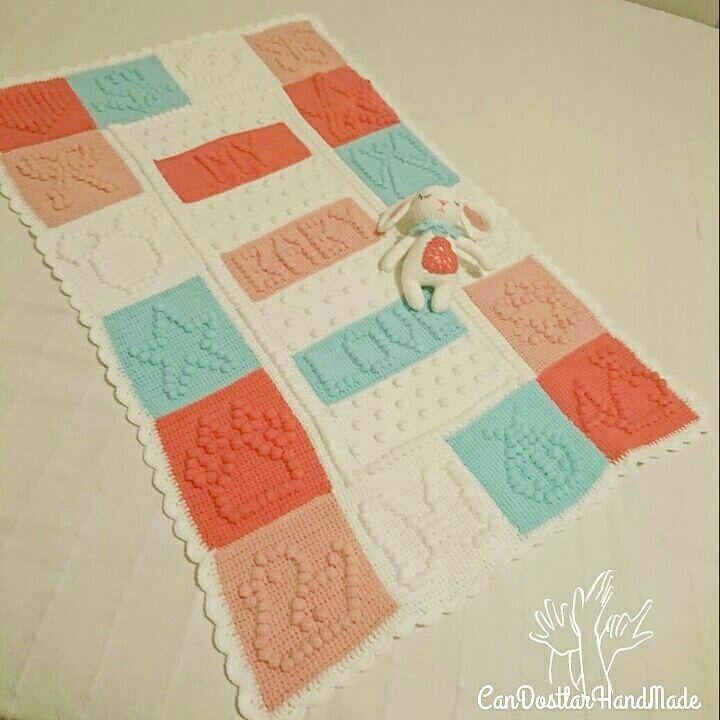 Crochet blanket and amugurumi Bebek battaniyesi ve uyku arkadaşı