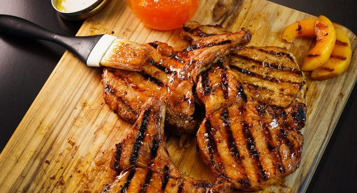 Use apricot preserves and about 2 tbsp of marinade in basting mix.