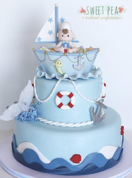 baby shower cakes nautical cake nautical theme boy baby showers baby