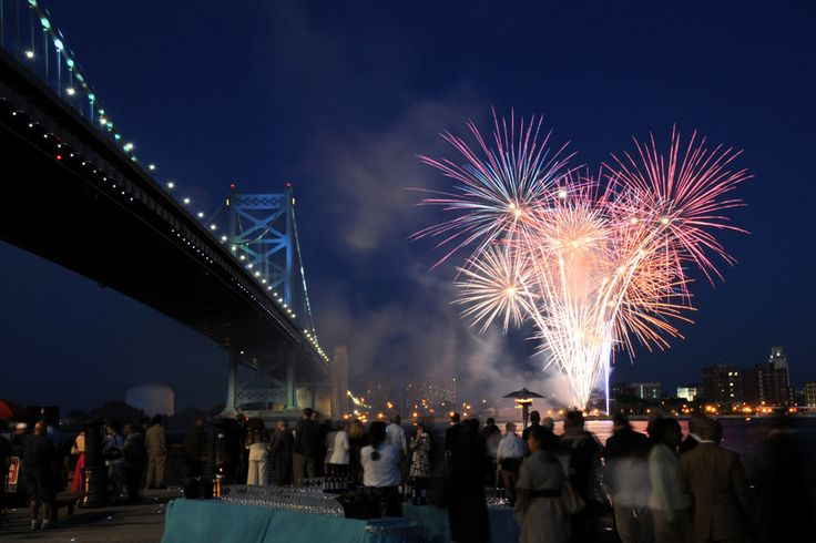 Where to Watch New Year's Eve Fireworks in Philadelphia (Photo courtesy the Delaware River Waterfront Corporation)
