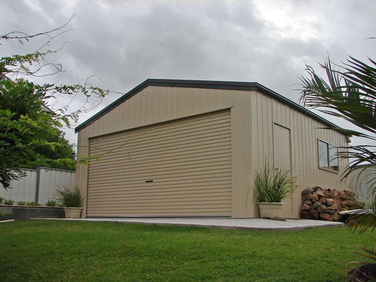 High Quality Single & Double Car Garage Sheds for Sale Perth, WA