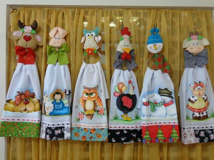 Cosina toallas decoradas pinterest - Manualidades para la cocina ...