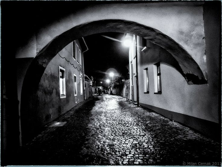 Evening street by Milan Cernak on 500px