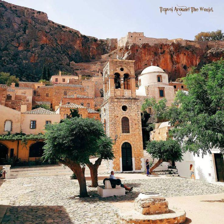 Στην Όμορφη Καστροπολιτεία της Μονεμβασιάς!!! Castle  Monemvasia Peloponnese Greece!!!