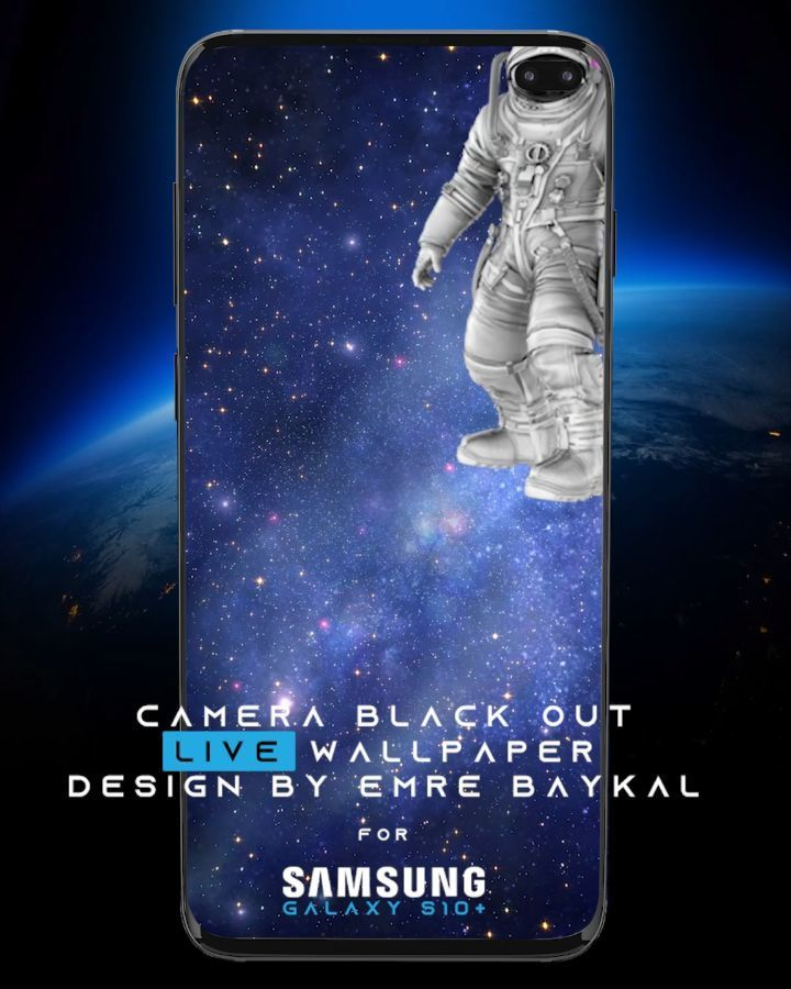 Camera Black Out Live Wallpaper For Samsung S10 Plus