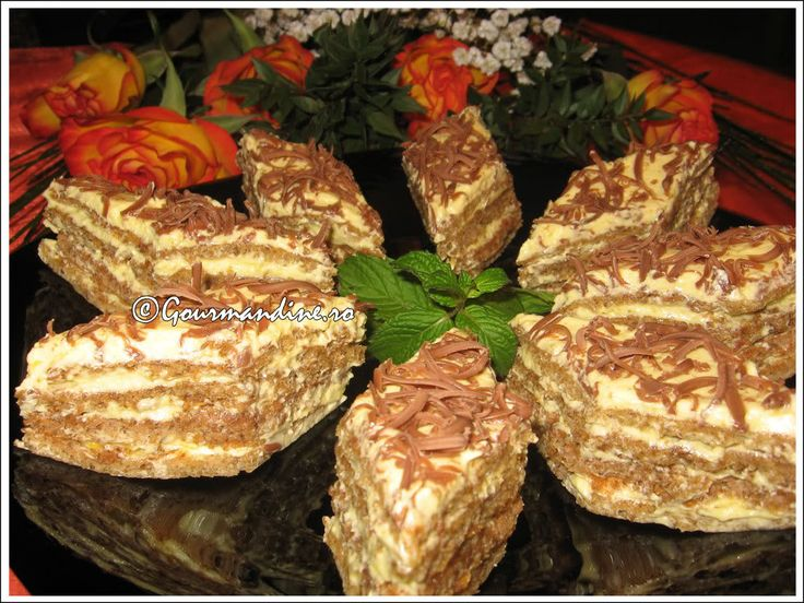Prajitura Ileana - Retete Prajituri - Gastronomie online, retete culinare Gourmandine