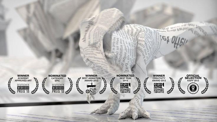 "Paper Age. Music: ""Trailer"" by Brian (http://dasandereselbst.org, http://www.zonoff.net)  - Winner @ Deutscher Webvideopreis 2013 / Category..."