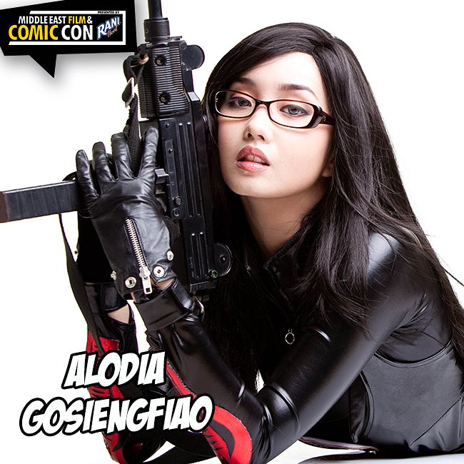 2 words for you friends. Alodia. Gosiengfiao. OH YES! The cosplay sensation will be with us at #MEFCC! Do not miss out get your tickets today!  #Dubai #MEFCC #Comics #Cosplay #Culture #gaming #Marvel #DC #Design #Animation #Art #esports #superheroes #MEFCC2018 #MiddleEastFilmAndComicCon #Comicbooks #Dubai #DubaiEvent #MyDubai #BlackPanther #InfinityWar #movies #anime