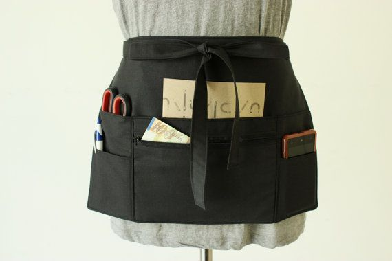 Something with lots of variety pockets (good for running about in my new job, and for craft fairs)