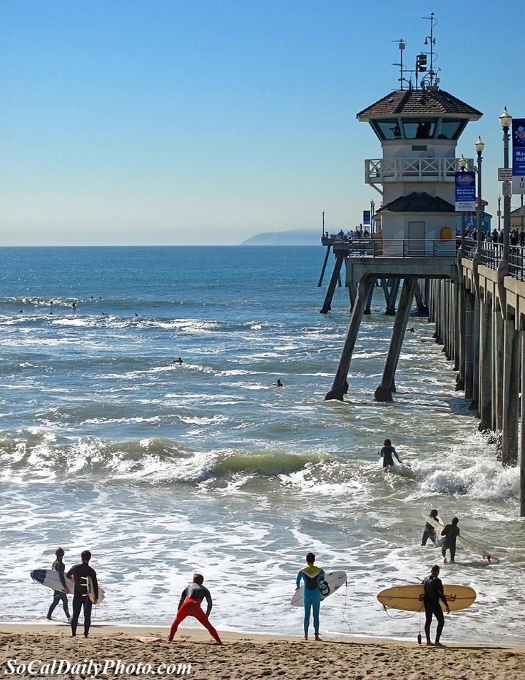 Pacific Coast Highway - Huntington Beach, California (Surf City USA)