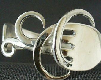 Vork armband Eco vriendelijke Upcycled Antiek door Forkwhisperer