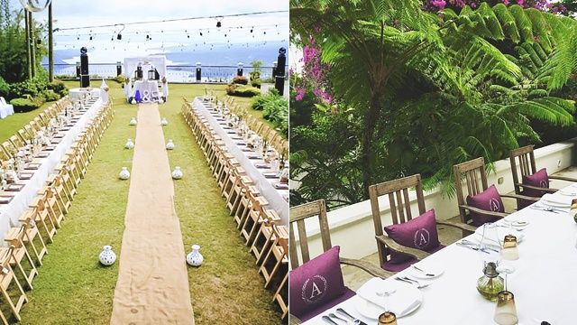 20 Dreamy Wedding Reception Venues For The Tagaytay Bride Wedding Reception Venues Tagaytay Wedding Garden Wedding Venue