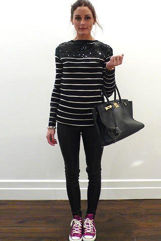 Foco: blusa listrada