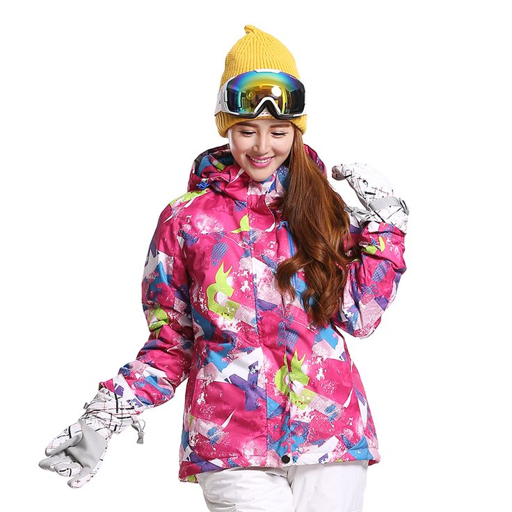 Skiing And Snowboarding Jackets Clothes Brand New Women Ski Jacket Snowboarding Colorful Warm Waterproof Windproof Breathable #Affiliate