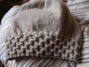 elvira knitted hat - I made this for my friend, Kerry. Great hat, great pattern!