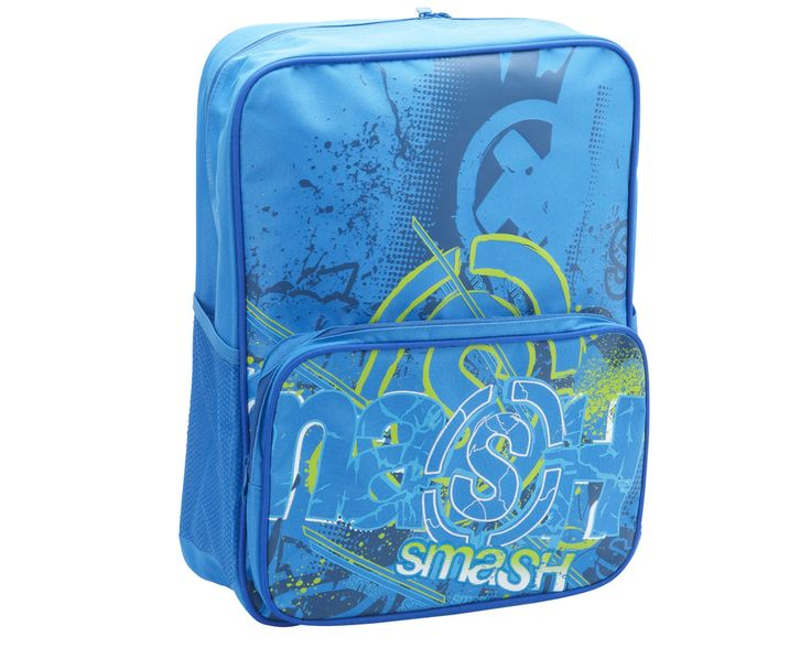 Static Blue Square Backpack 9625