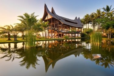 Architectural Digest Beachfront in Candidasa, Bali.