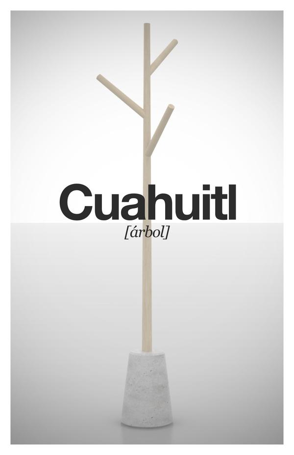 Cuahuitl  (árbo)    Perchero de Miguel Garcia