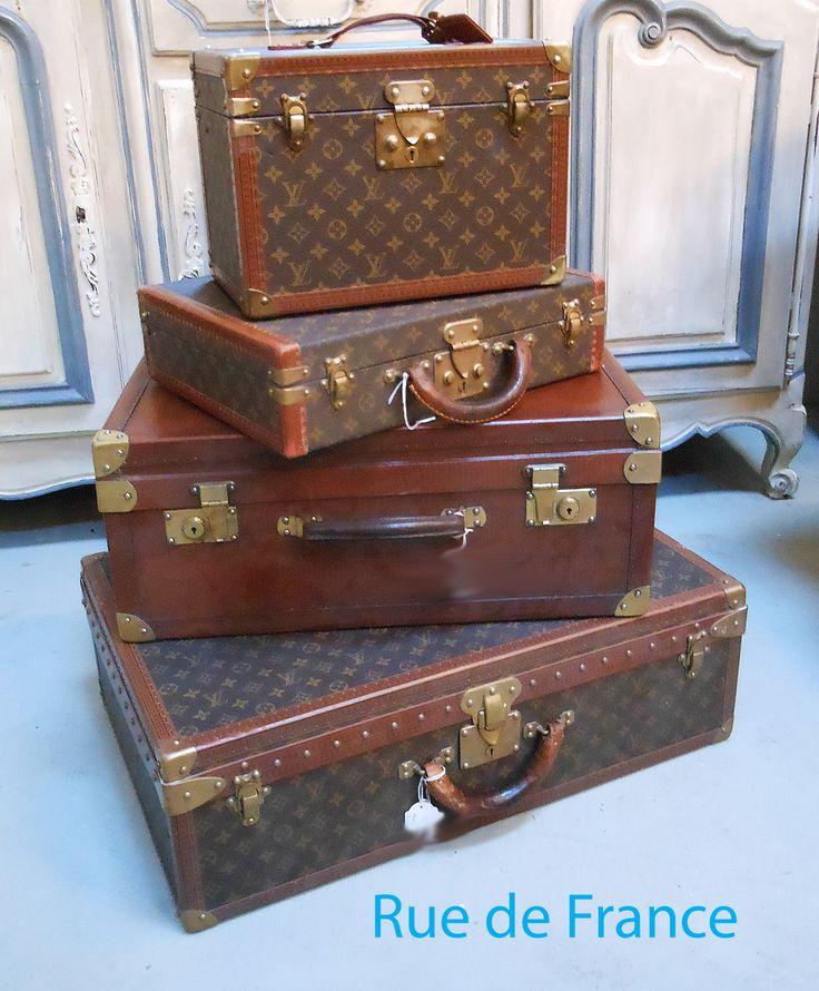 Vintage Louis Vuitton hard cases / trunks travel luggage