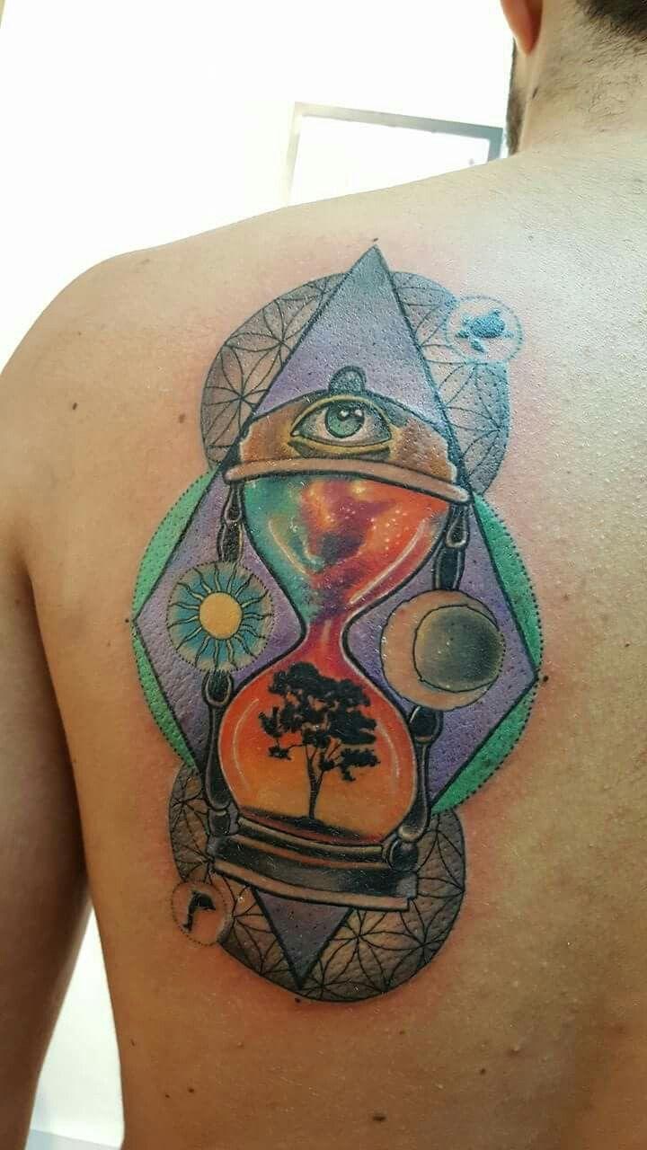#tattooart #time ##color