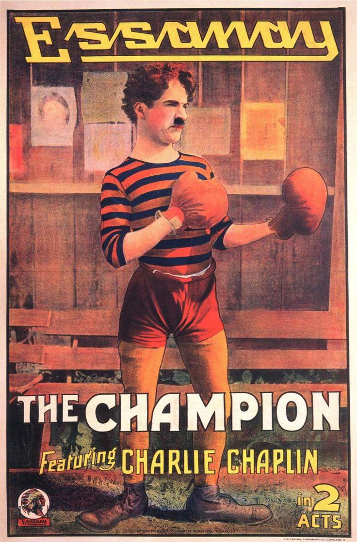 CHARLOT CAMPEÓN DE BOXEO (1915)