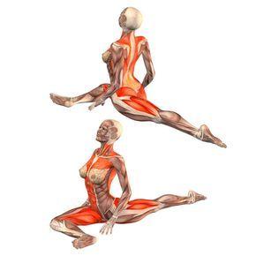 Pigeon pose on right foot, head up - Urdhva Mukha Kapotasana right - Yoga Poses | YOGA.com