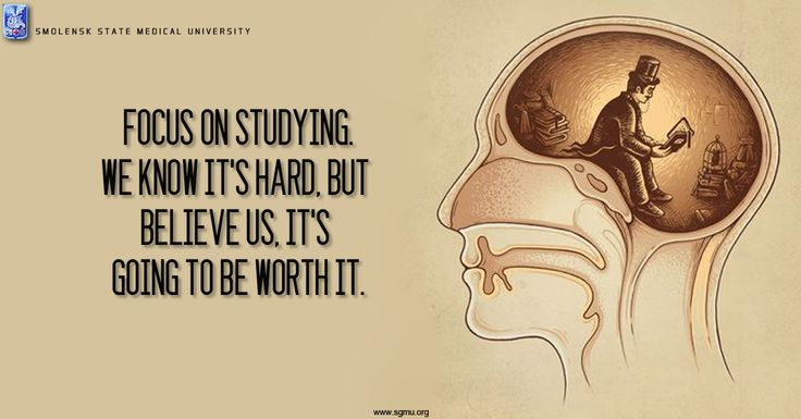 #Focus on studying we know it's #hard, But #believe us,  It's going to be worth it. #Motivation to become a #Doctor http://sgmu.org