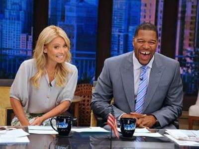 Do you like this combination? Well, I am hearing that Strahan is joining this cast of characters.    Kelly Ripa Michael Strahan
