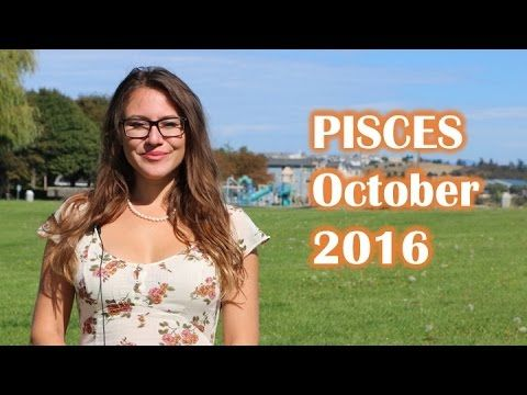 PISCES October 2016 Horoscope. Surprise INCOME and GAINS! Monthly Astrology Forecast - YouTube