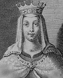 """Matilda """"The Empress"""" - Matilda was first married to Henry V, Holy Roman Emperor and King of Germany.  Married secondly to Geoffrey V, Count of Anjou.  She was the daughter of King Henry I of England and mother to King Henry II."""