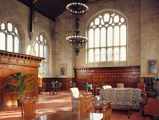 This Picture Of Thomas Great Hall At Bryn Mawr College Is What Made Me Want To