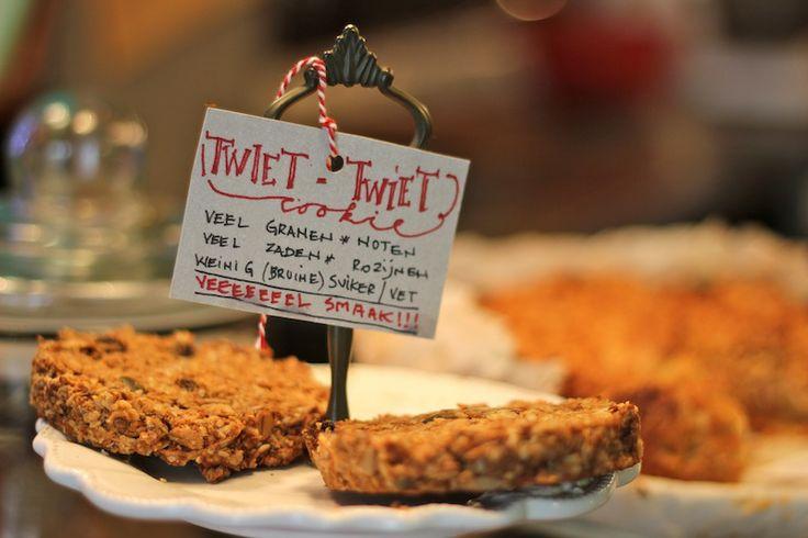 Tasty home made sweets @ Starfish & Coffee in Antwerp, Belgium