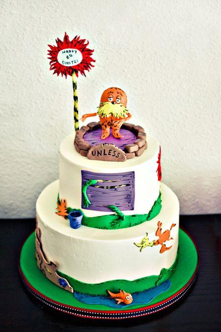 The LoraxLorax Cake, Gossip Cafes, Birthday Parties, Cake Ideas, Cafes Corner, Lorax Parties, Duno Bakeries, Birthday Cake, Birthday Ideas