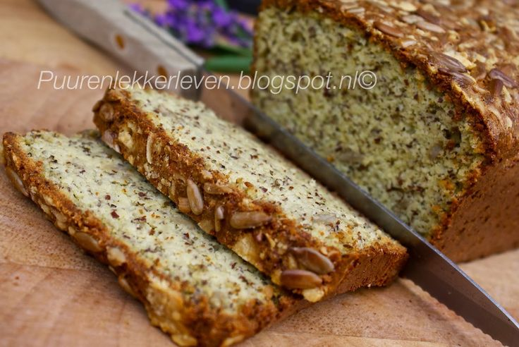 Puur & Lekker leven volgens Mandy: Luchtig Courgette Brood