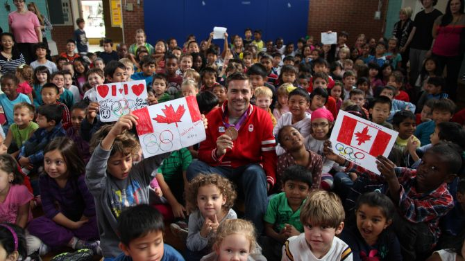 About the Canadian Olympic School Program