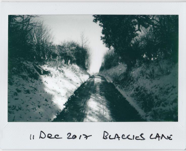 https://flic.kr/p/21kk9rh | Blackie's Lane | Fuji Instax Wide Monochrome
