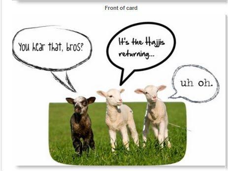 Hajj Pilgrimage Greetings 4X6 Postcard. 2.99 by GoodGifts313
