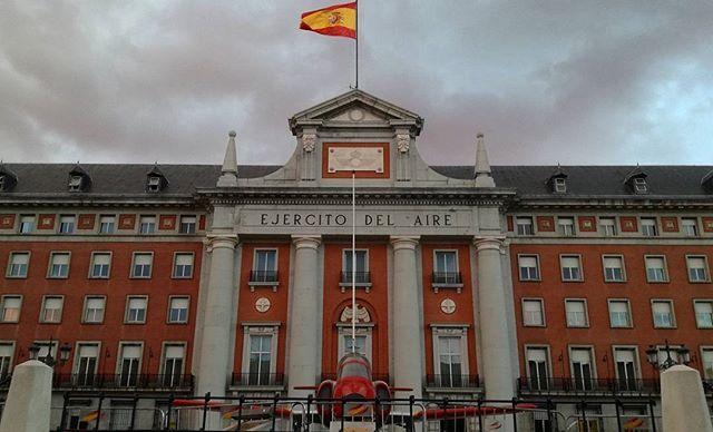 Cuartel general del Ejército del Aire | Air Forces Headquarters in #Madrid #Spain