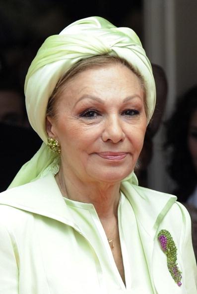 Empress Farah Pahlavi of Iran, 2011