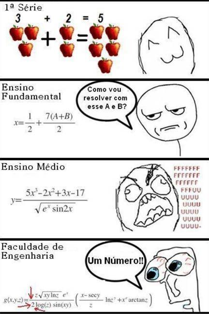 Os Galhofeiros: Matemática