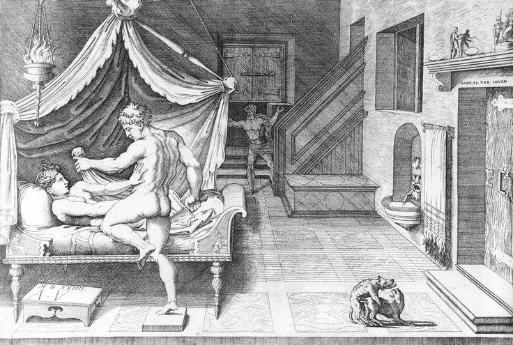 Mazmorra Maldita: Agostino Veneziano Tarquino ve Lucrezia